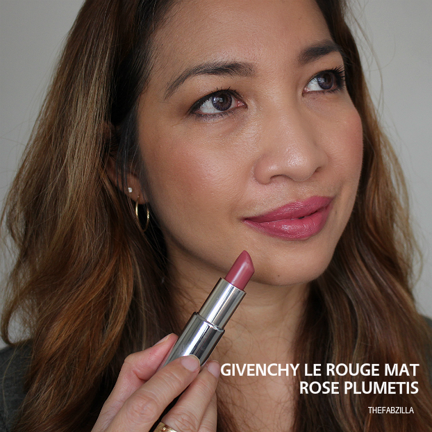 givenchy le rouge mat rose plumetis