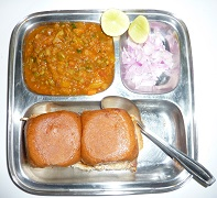Pav_Bhaji_at_Home