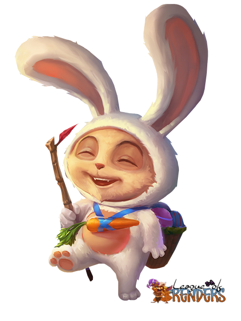 RENDER Cottontail Teemo