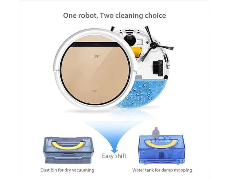 Chuwi Robotic Vacuum Cleaner V5S Pengepel Lantai (blibli.com)