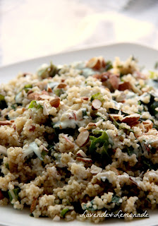 Earthy, whole-grain Bulgur with Chard and Saffron-Infused Yogurt