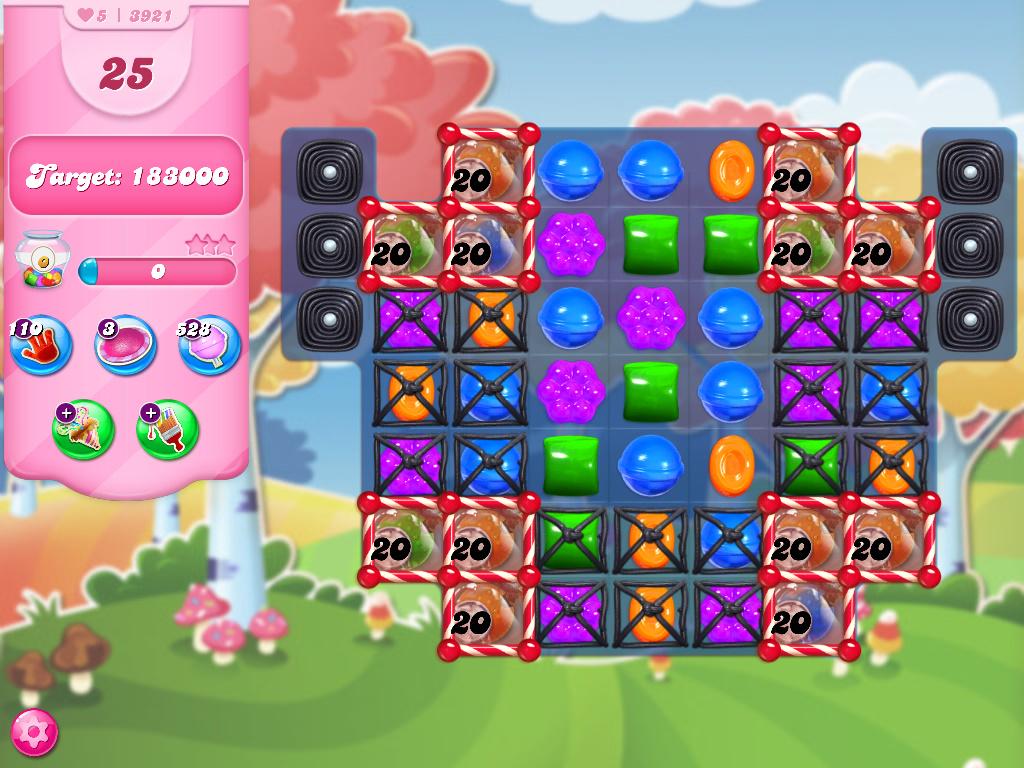 Candy Crush Saga level 3921