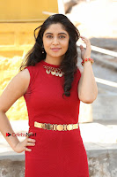 Telugu Actress Zahida Sam Latest Pos in Red Gown at RF Films New Movie Opening  0040.JPG