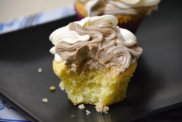 עוגות קאפקייקס מוס שוקולד chocolate mousse cupcakes