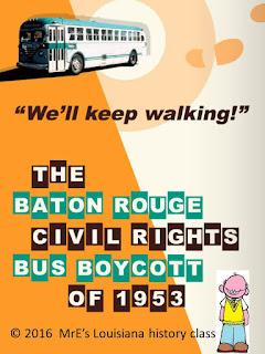 https://www.teacherspayteachers.com/Product/LOUISIANA-Baton-Rouge-Bus-Boycott-of-1953-2501196