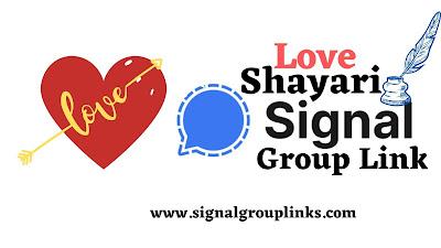 Love Shayari Signal Group Links