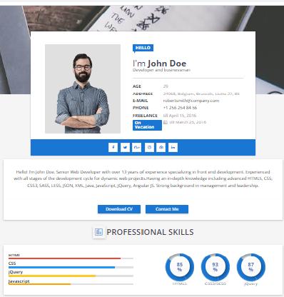 Sora-CV Blogger theme Download -100% Direct  Download Links