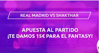 Mondobets promo Real Madrid vs Shaktar 21-10-2020