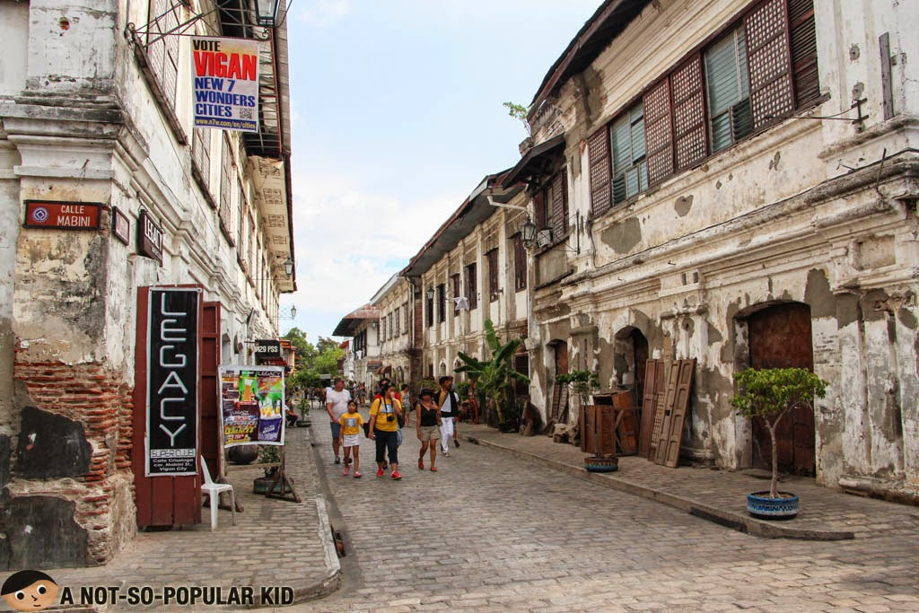 Calle Crisologo - The street that made Vigan extra-famous