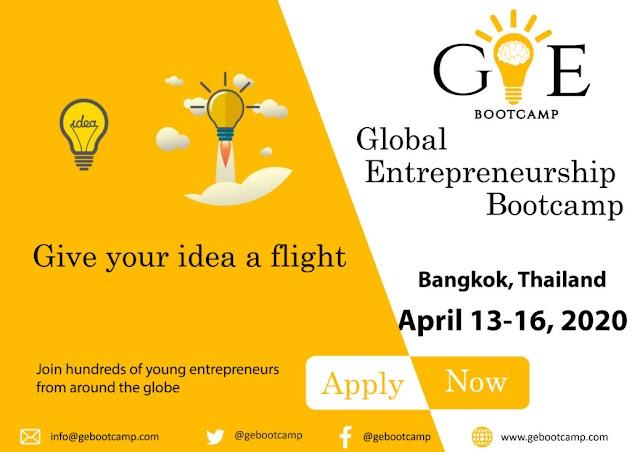 Global Entrepreneurship Bootcamp In Bangkok, Thailand