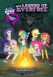 MLP Equestria Girls: The Legend of Everfree Book Media
