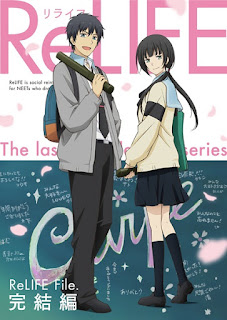 Download Film dan Movie ReLIFE Episode 1-13 Batch + OVA Subtitle Indonesia Subtitle Indonesia