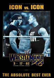 WWE / WWF Wrestlemania 18 - Event poster