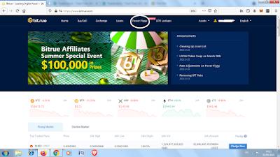 Bitrue homepage