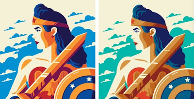 Golden Age: Wonder Woman Screen Print by Tom Whalen x Bottleneck Gallery x DC Comics