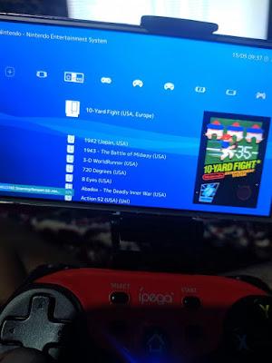 Retro Console Gaming Android menggunakan smartphone android