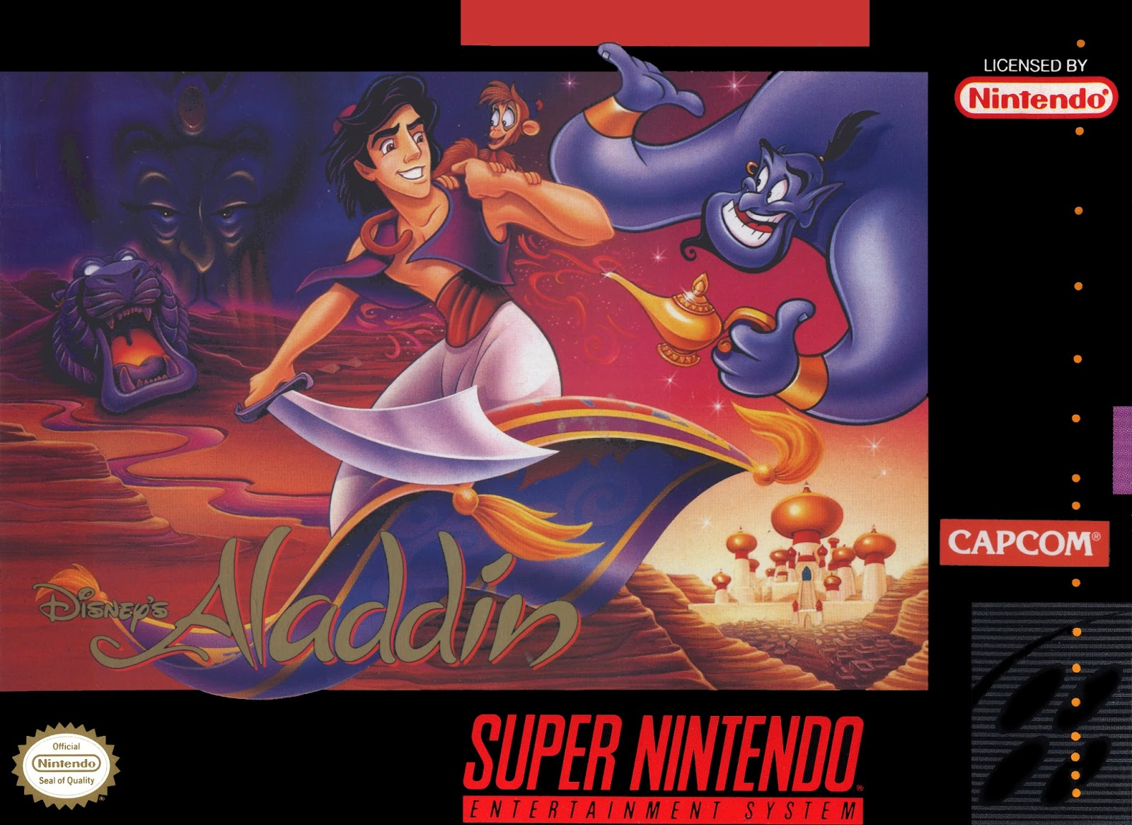 nerdicus snes review 34 disney 39 s aladdin life of a gamer nerd. Black Bedroom Furniture Sets. Home Design Ideas