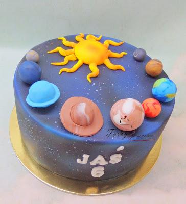tort układ słoneczny