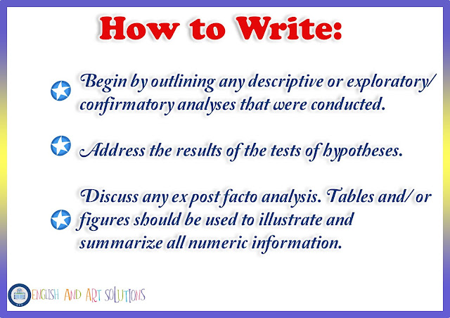how to write chapter 4 of research paper