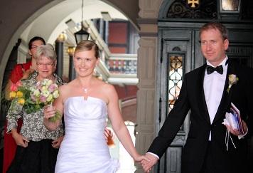 Trauung und Eheschließung Standesamt Rathaus Stralsund