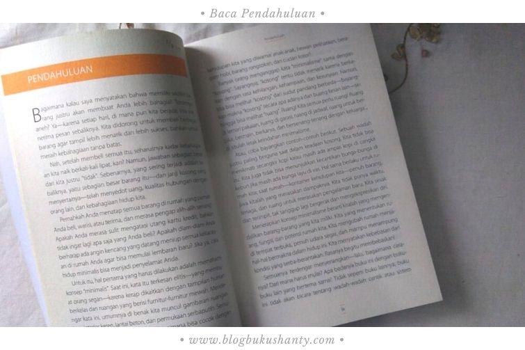 Skimming dengan baca bab pendahuluan