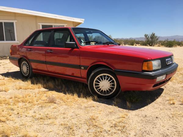 1986 Audi 4000 CS Quattro For Sale