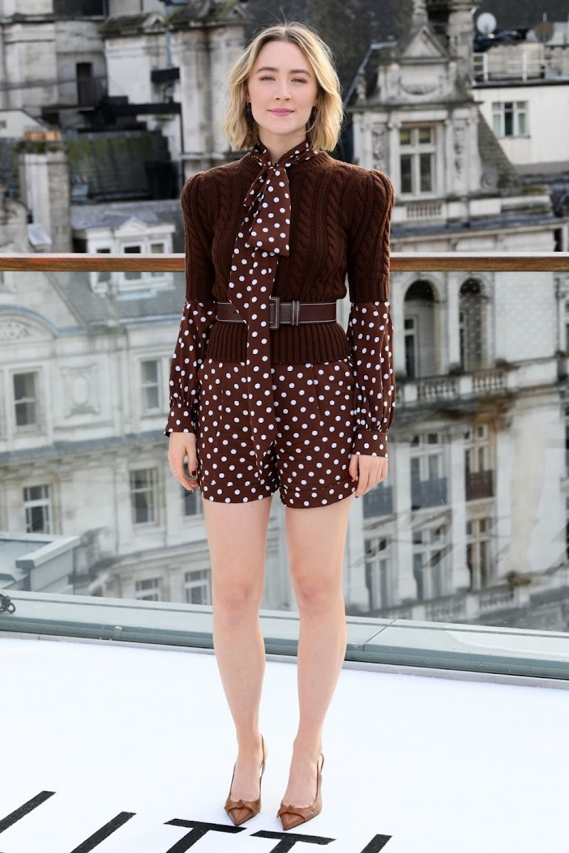 Saoirse Ronan Clicks at Little Women Photocall in London 16 Dec-2019