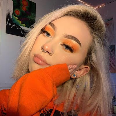 Maquillaje color melocoton