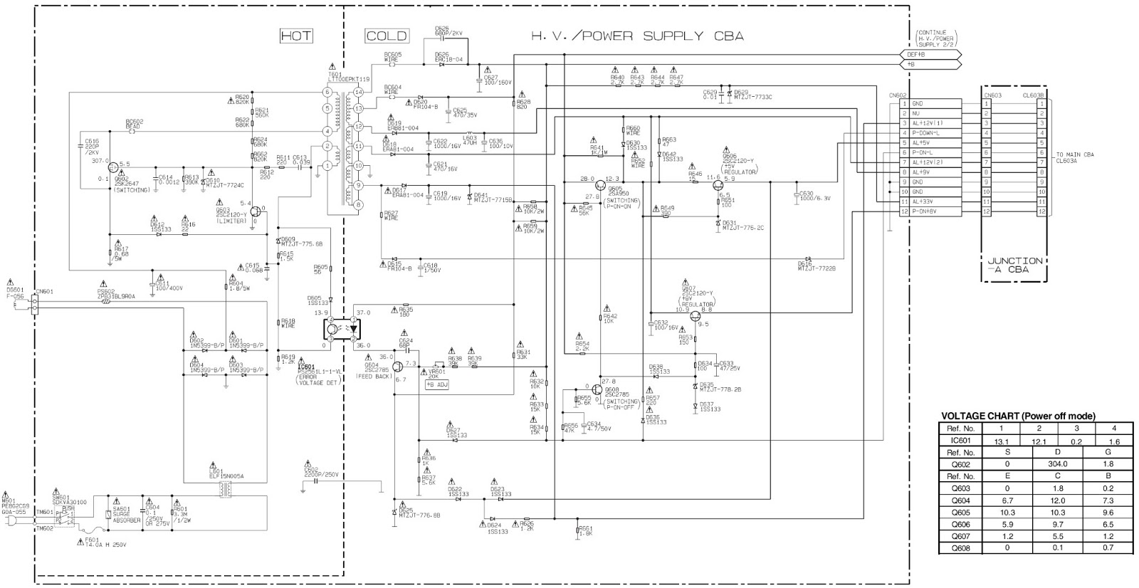 Chinese Power Supply Schematic Trusted Wiring Diagrams Electronics Repair Made Easy Chanwong Tvchina See Circuit Below Tokai Lt Vhs36 T6608fj China Smps Simple