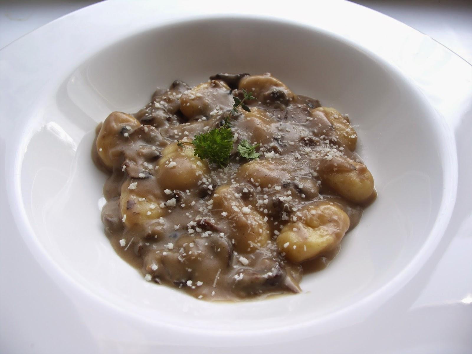 gnocchi truffelsaus