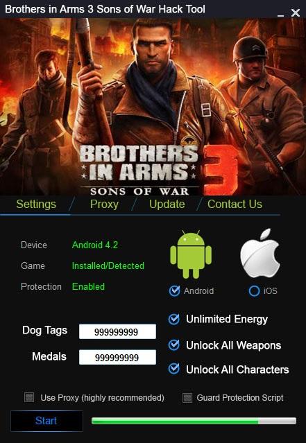 как удалить акк в игре brothers in arms 3