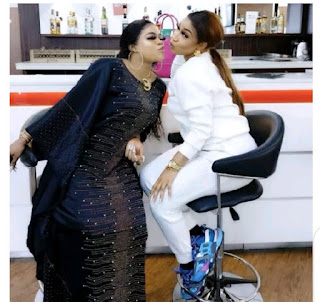 'I Promise To Be Loyal To You Till Death' - Bobrisky Tells Tonto As They Mark 4-years Of Friendship