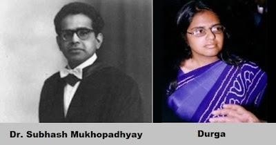 Subhash Mukhopadhyay and test tube baby Durga, Subhash Mukhopadhyay Photo