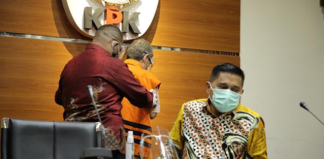 KPK Tahan Eks Kepala BPPSDM Kesehatan Kemenkes Bambang Giatno Rahardjo