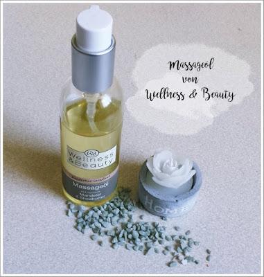 Massageöl (mit Mandelöl & Sheabutter) von Wellness & Beauty