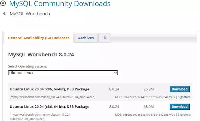 Cara Download dan Instal MySQL Workbench di Ubuntu-1