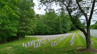Quantico National Cemetery - May 2020