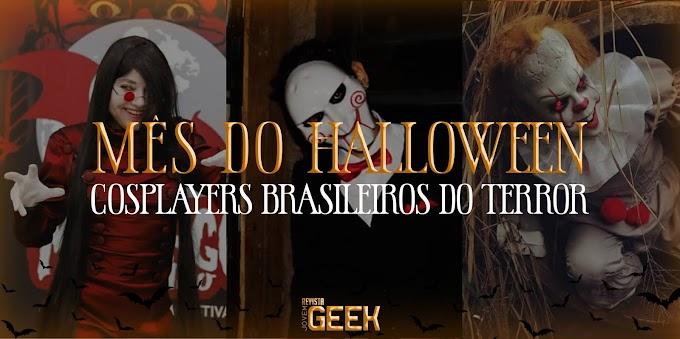 Mês do Halloween: Cosplayers Brasileiros do Terror