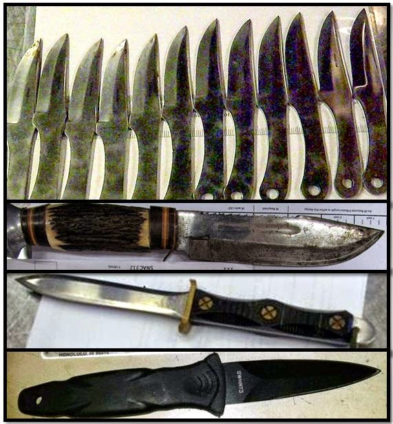 discovered knives