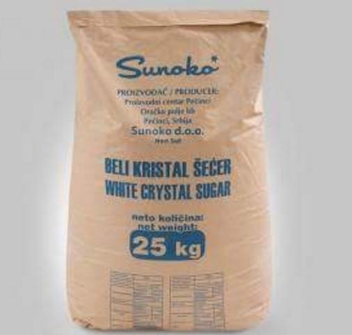 Πωλείται λευκή κρυσταλλική ζαχαρη για μελισσοκόμους