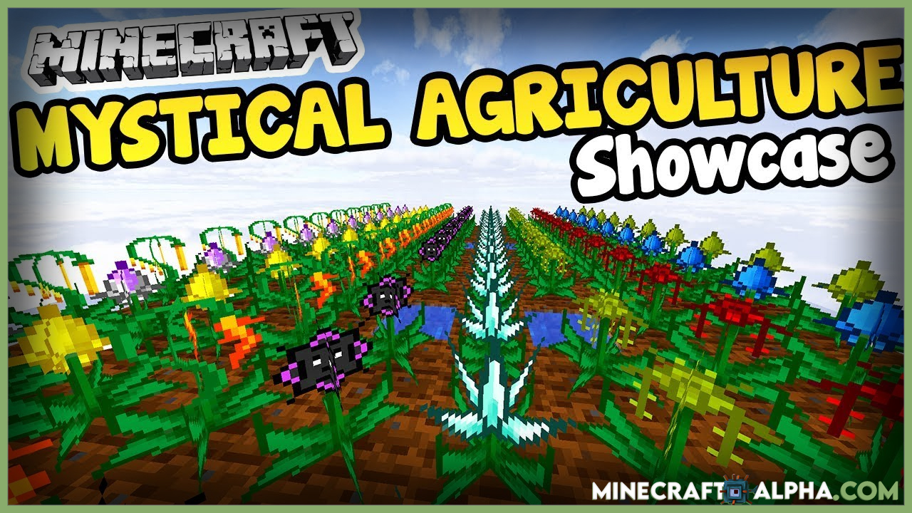 Minecraft Mystical Agriculture Farming Mod For 1.16.5 To 1.15.2