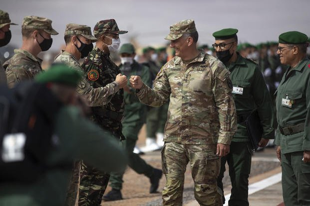 """Tras clausurar sus maniobras en Marruecos, AFRICOM confirma que el """"African Lion 2021"""" no pisó el Sáhara Occidental."""