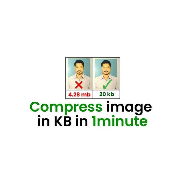 Compress image to 20kb offline (2020)