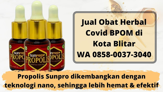 Jual Obat Herbal Covid BPOM di Kota Blitar WA 0858-0037-3040