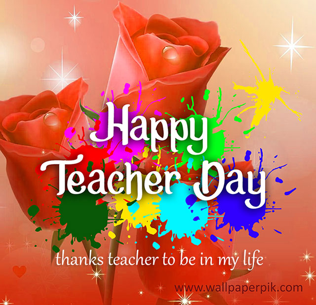 happy teacher day wallpapers quote