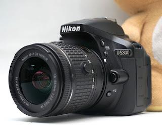 Jual Nikon D5300 Wi-Fi bekas