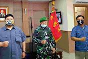 Danpussenif Letjend TNI Besar Harto Karyawan Terima Audiensi Jurnalis Bela Negara
