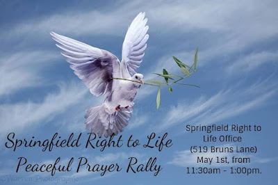 Springfield Right to Life Peaceful Prayer Rally