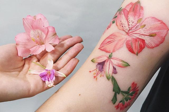 Tatuagem de Rit Kit 🌿