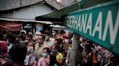 Pemprov DKI Gerak Cepat Tangani Korban Kebakaran Taman Sari